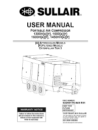 sullair wiring diagram sullair 375 compressor service manual