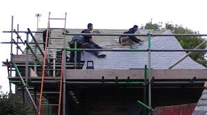 Roofing A House Cambridge A Time Lapse Film Showing The Re Roofing Of A
