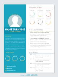 Audio Visual Resume Graphic Resume Mockup Template Vector Download