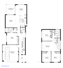 house plans for small lots house plans for small lots best of 2 story narrow lot house plans
