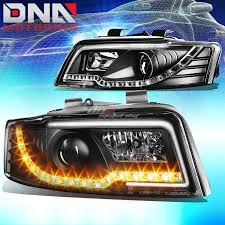 05 audi s4 for b6 02 05 audi s4 a4 quattro black projector halo drl led