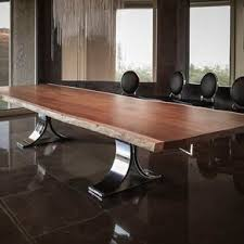 Quartz Conference Table Dining And Kitchen Tables Farmhouse Industrial Modern