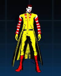 Ronald Mcdonald Halloween Costume Ronald Mcdonald Ultimate Marvel Capcom 3 U003e Skins U003e Wesker