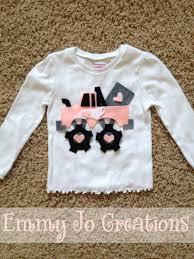 valentine u0027s monster truck shirt infant toddler girls boys