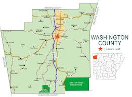 Map Of Washington by Washington County Map Encyclopedia Of Arkansas