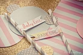 pink and grey baby shower pink grey and glitter baby shower project nursery
