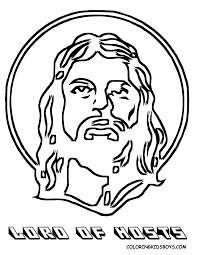 easter jesus coloring pages free large images