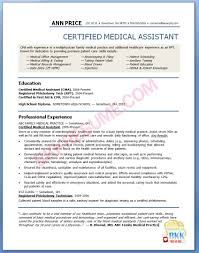 Sample Resume For Medical Assistant 28 Sample Resume For Medical Assistant Graduate Medical