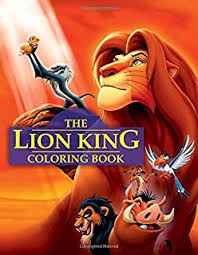disney u0027s lion king deluxe coloring book 9780307055880