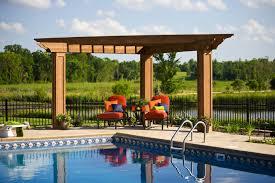 Pool With Pergola by Award Winning Wazyata Backyard Swimming Pool Southview Design