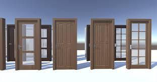 modern doors 3d model cgtrader