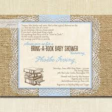 best burlap and lace baby shower invitations products on wanelo