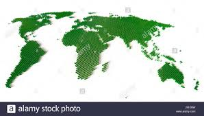 Map Of The World With Continents by Blocks Globe Planet Earth World Continents Map Atlas Map