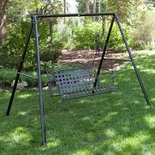 Patio Swing Frame by Flexible Flyer Metal Lawn Swing Frame Frames U0026 Accessories At