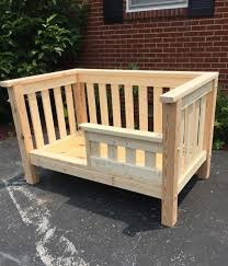 Toddler Bed Jake Toddler Bed Wooden Toddler Bed Safety Rail Solid Pine