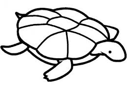 print out share this printable simple turtle coloring pages 573350