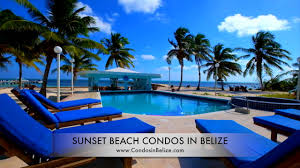 sunset beach condos in belize ambergris caye belize vacation