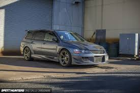 mitsubishi evo 2015 the wangan wagon speedhunters