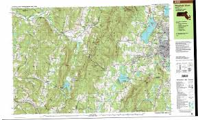 Map Massachusetts Pittsfield West Topographic Map Ma Ny Usgs Topo Quad 42073d3