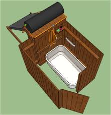 How To Make An Outdoor Bathroom Best 25 Outdoor Tub Ideas On Pinterest Outdoor Bathtub Outdoor