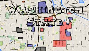 Seattle Tacoma Airport Map Map Of Seattle Gangs And Tacoma Gangs And Ghetto