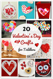 20 easy valentine u0027s day crafts for toddlers siblings parents