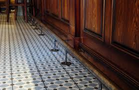 Restaurant Tile Accessories Tile Flooring With Bar Foot Rail Also Dark Wood Bar