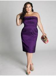 plus size cocktail dresses to look slim and slender dressity