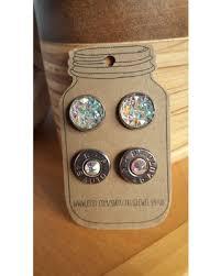 bullet stud earrings hot bargains on bullet earrings bullet jewelry set druzy