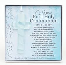 on your holy communion cross ornament christianbook