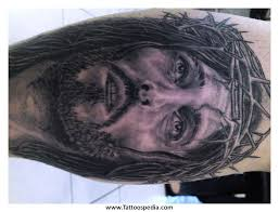 tattoo designs jesus face 3