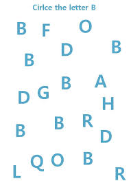 letter b worksheet fun as learning