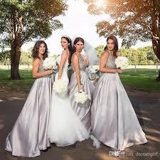 2017 amazing bridesmaid dresses for garden wedding v neck