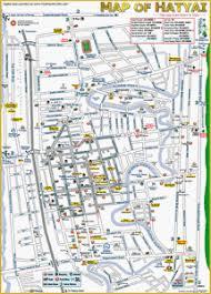 map of hat yai maps