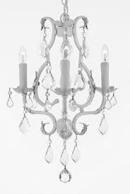 Country French Chandelier by G7 White 407 5 Gallery Country French White Wrought Iron