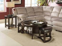 Round Living Room Table by Upholstered Round Ottoman Coffee Table Pictures U2014 Home Design And