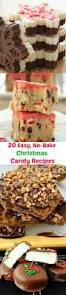 easy no bake christmas candy recipes