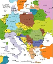 map of europe map of europe showing countries major tourist