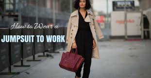 how to wear a jumpsuit how to wear a jumpsuit to work the complete guide wisestep