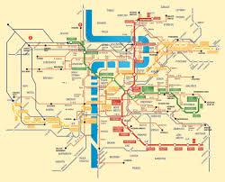 Prague Metro Map by Bohemiae Estates