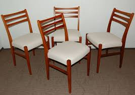 Dining Chair On Sale Set Of Four Swedish Mid Century Modern Teak Dining Chairs For Sale