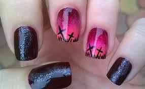 life world women ombre halloween nail art