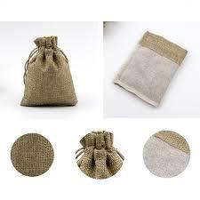 burlap drawstring bags jute bags hessian hemp drawstring bags wedding favor gift pouch
