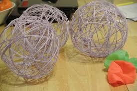 tutorial diy yarn balls dainty fingers