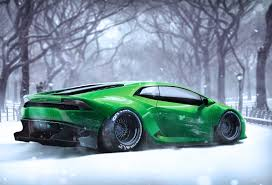 Lamborghini Huracan Wide Body - artstation lamborghini huracan in the snow matt mcquiggan