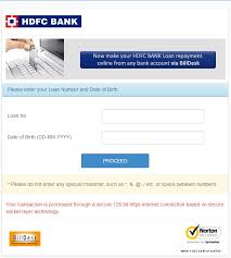 hdfc billdesk