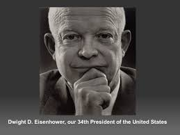 dwight d eisenhower our 34th president of the united states