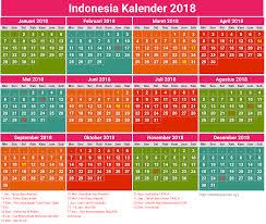 Kalender 2018 Hari Libur Indonesia Indonesia Kalender 2018 21 Newspictures Xyz