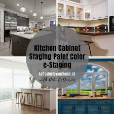 does painting kitchen cabinets add value kitchen cabinets staging paint color consult