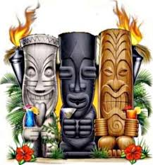 Tropical Themed Tattoos - 18 cartoon hawaiian flowers cool small pattern tattoos with